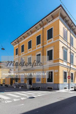 Cucchiari Palace, Carrara, Tuscany, Italy, Europe