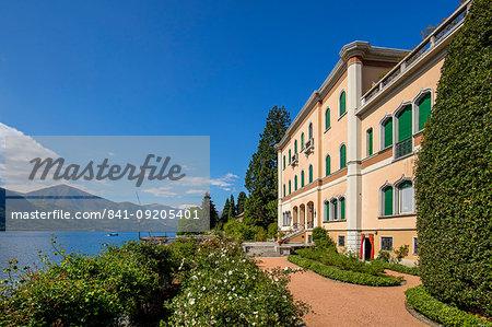 Villa Motta, Orta San Giulio, Piemonte (Piedmont), Italy, Europe