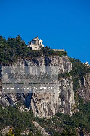 Church of Madonna del Sasso, Lake Orta, Piemonte (Piedmont), Italy, Europe