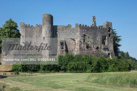 Laugharne Castle, Carmarthenshire, Wales, United Kingdom, Europe