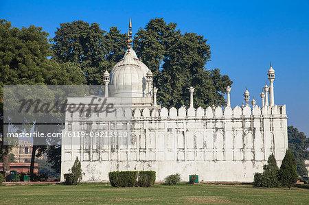 Moti Mosque, Red Fort, Old Delhi, Delhi, India, Asia