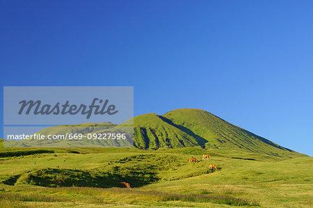 Mt. Aso, Kumamoto Prefecture, Japan