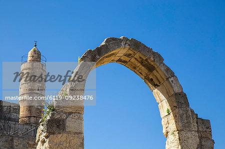 The Tower of David (the Jerusalem Citadel), Old City, UNESCO World Heritage Site, Jerusalem, Israel, Middle East