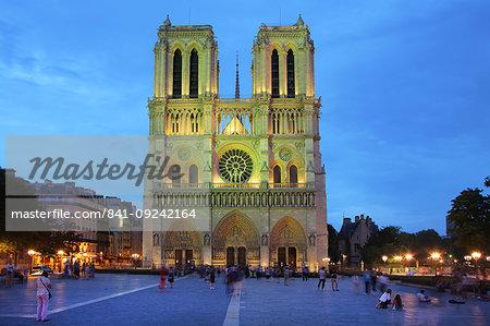 Notre Dame, UNESCO World Heritage Site, Paris, France, Europe