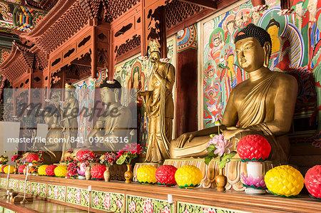 Pohyon Buddhist Temple, Myohyang, North Korea, Asia