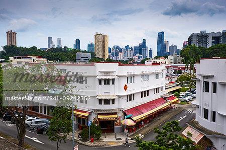 Art Deco district of Tiong Bahru, Singapore, Southeast Asia, Asia