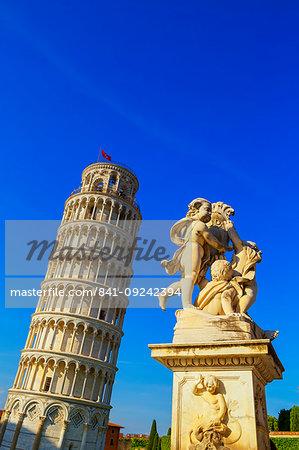 Leaning Tower, UNESCO World Heritage Site, Pisa, Tuscany, Italy, Europe
