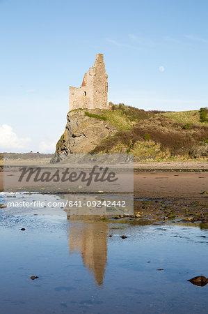 Greenan Castle, Ayr, Scotland, United Kingdom, Europe