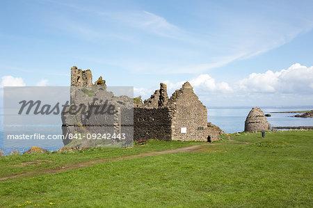 Dunure Castle, South Ayrshire, Scotland, United Kingdom, Europe
