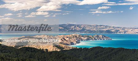Coastal landscape, Gisborne Region, North Island, New Zealand, Pacific