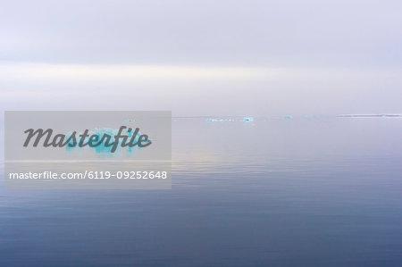Iceberg in Hinlopen Strait, Norway, Europe
