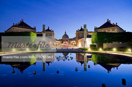 Royal Palace, Copenhagen, Denmark, Europe