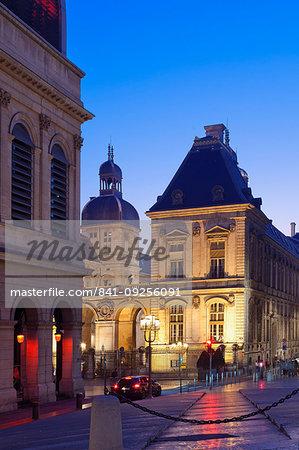 City Hall, Lyon, Auvergne-Rhone-Alpes, France, Europe