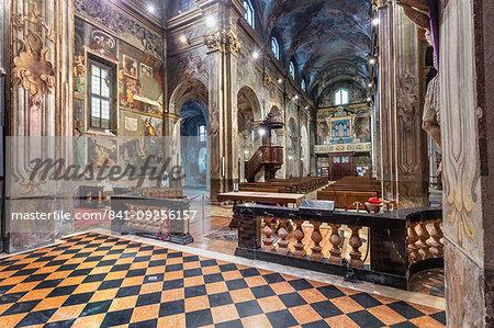 San Cristoforo Church, Vercelli, Piedmont, Italy, Europe