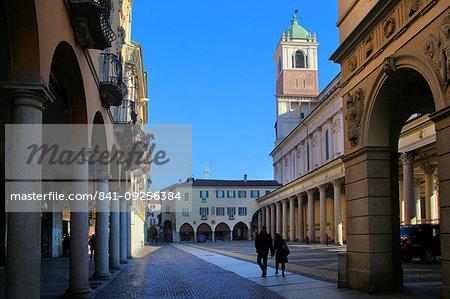 Piazza della Repubblica, Novara, Piedmont, Italy, Europe