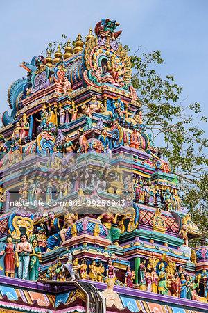 Attukal Hindu Temple, Trivandrum, Kerala, India, South Asia