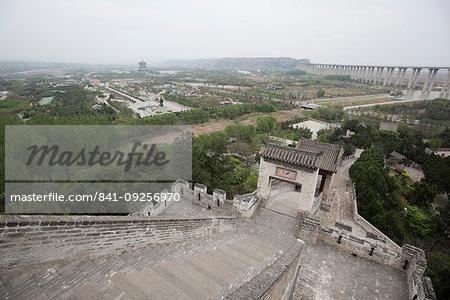 Sima Qian Temple, Hancheng, Shaanxi Province, China, Asia