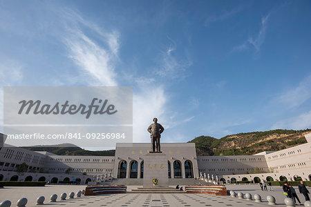 Yanan Revolutionary Memorial Hall, Yan'an, Shaanxi Province, China, Asia