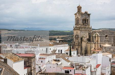 Church of San Pedro, Arcos de la Frontera, province of Cadiz, Andalusia, Spain, Europe