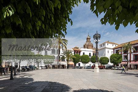 Plaza San Fernando, Carmona, province of Seville, Andalusia, Spain, Europe