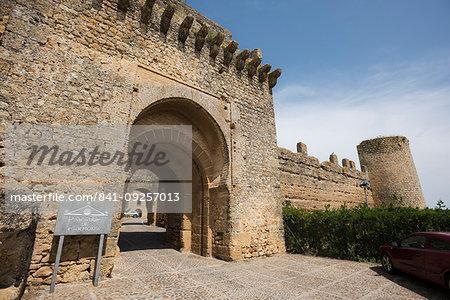 Parador de Carmona, Carmona, province of Seville, Andalusia, Spain, Europe
