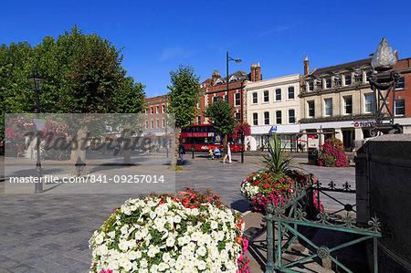 World War 1 Memorial, Market Square, Salisbury, Wiltshire, England, United Kingdom, Europe