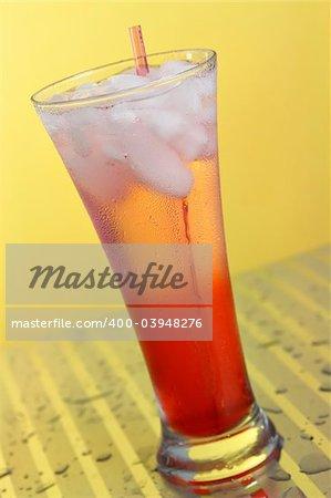 Cranberry Cooler in a highball glass