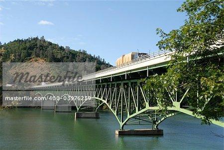 Interstate 5 bridge over Shasta Lake, Lakehead, California