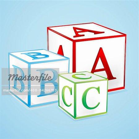 illustration of alphabetical play