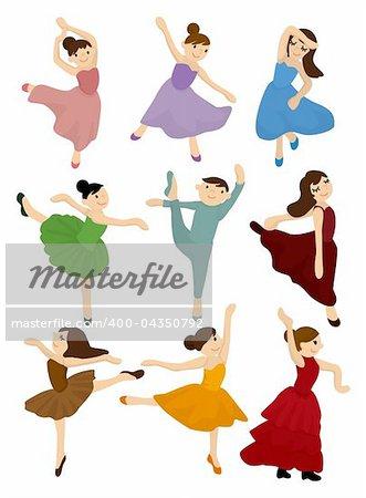 cartoon Ballet icon