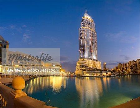 Luxury hotel  at Dubai