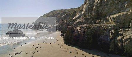 cornish coast kennack sands beach cornwall england uk
