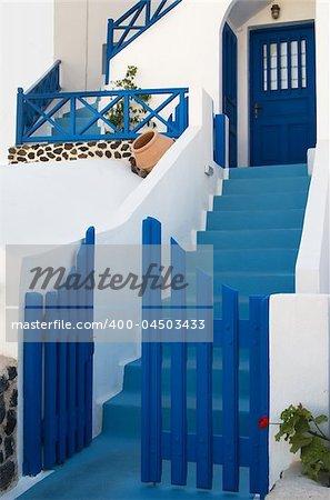 Architecture from Santorini, Greece