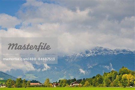 Saalfelden, beautiful town in Zell am See, Salzburg, Austria