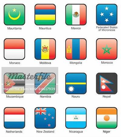 Mauritania, Mauritius, Mexico, Federated States of Micronesia, Monaco, Moldova, Mongolia, Morocco, Mozambique, Namibia, Nauru, Nepal, Netherlands, New Zealand, Nicaragua, Niger