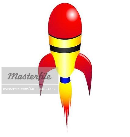 Vector rocket missile
