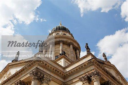 Church in Gendarmenmarkt square, Berlin Germany