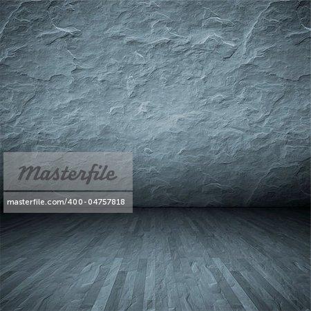 An image of a grey dark floor