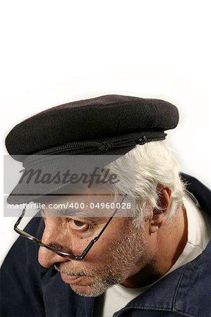 Senior With Hat