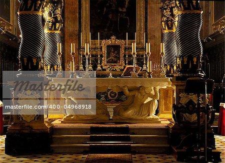 CHIARO SCURO PICTURE OF MALTESE CATHOLIC CHURCH