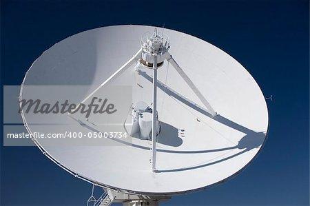 Very Large Array radio telescope parabolic dish