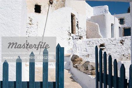 Old village in Santorini, Greece