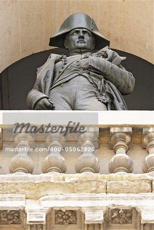 Statue of Napoleon Bonaparte, Les Invalides, Paris