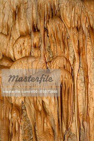beautiful minerals inside of the czech cavern
