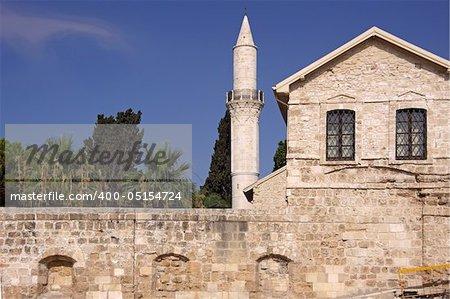The Grans Mosque (Djami Kebir as it is called) in Larnaca, Cyprus