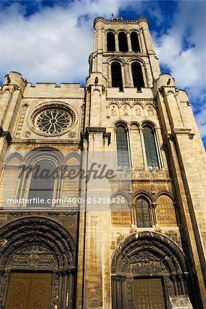 Basilica Saint Denis Tower, Paris, France