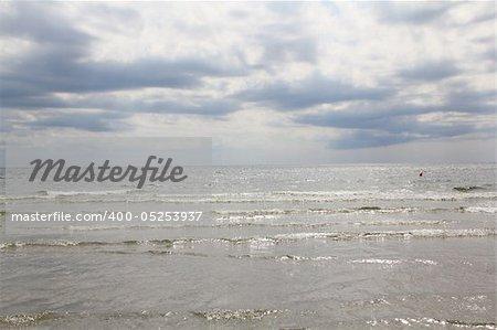 Beautiful view at the Black Sea