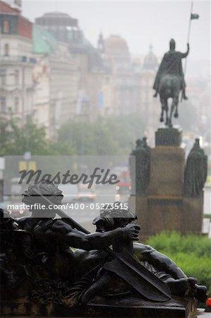 The rain in Prague