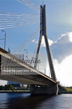 Bridge over Dauguva