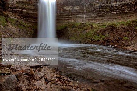 Minnehaha Waterfall Miinnesota Minneapolis Hiawatha Park